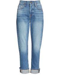 FRAME - Re-release Le Original Cuffed Jeans - Lyst