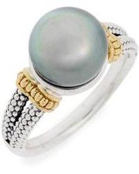 Lagos - Luna Pearl Ring - Lyst