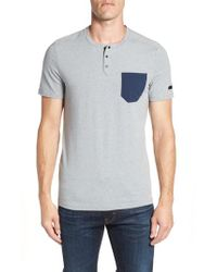 Under Armour - Unstoppable Henley Shirt - Lyst