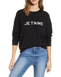 Zadig & Voltaire - Je T'aime Sweater - Lyst