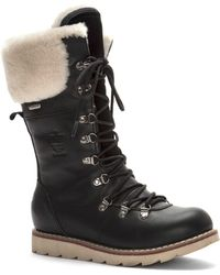 Royal Canadian - Yellow Knife Waterproof Snow Boot With Genuine Shearling Cuff - Lyst