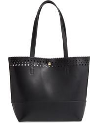 Sole Society - Ivah Mini Faux Leather Tote - Lyst