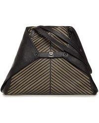 Akris - Medium Ai Leather Tote - - Lyst