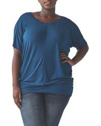 UNIVERSAL STANDARD - Origami Collection - Carrea Relaxed Tee - Lyst