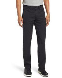 Bugatchi - Flat Front Pants - Lyst