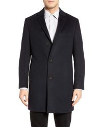 Cardinal Of Canada - St. Paul Wool & Cashmere Topcoat - Lyst
