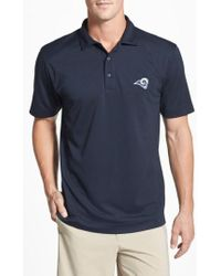 Cutter & Buck | 'los Angeles Rams - Genre' Drytec Moisture Wicking Polo | Lyst
