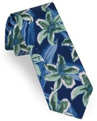 Ted Baker - Lily Print Silk Tie - Lyst