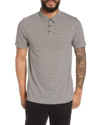 Calibrate - Feeder Stripe Polo - Lyst