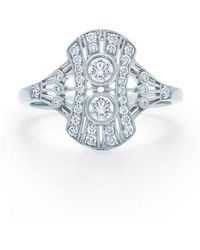 Kwiat - Vintage Oval Diamond Ring - Lyst