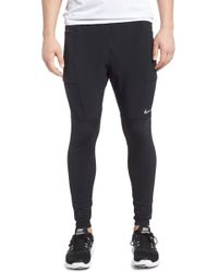 80464f3565 Nike Utility Speed Compression Running Tights in Gray for Men - Lyst