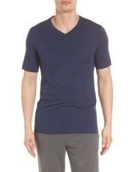Hanro - Liam V-neck T-shirt - Lyst