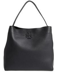 Tory Burch - Mcgraw Leather Hobo - Lyst