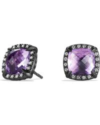 David Yurman - 'châtelaine' Earrings With Semiprecious Stone And Diamonds - Lyst