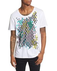 Antony Morato - Geometric Graphic T-shirt - Lyst