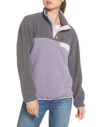 Patagonia - Synchilla Snap-t Fleece Pullover - Lyst