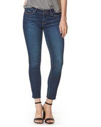 PAIGE - Skyline Ankle Skinny Jeans - Lyst