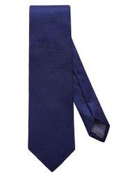 Eton of Sweden - Solid Silk Tie - Lyst