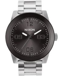 Nixon - 'the Corporal' Bracelet Watch - Lyst