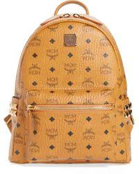 MCM - 'small Stark' Side Stud Backpack - Lyst