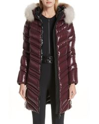 Moncler - Fulmar Hooded Down Puffer Coat With Removable Genuine Fox Fur Trim - Lyst