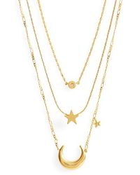 Madewell - Sparkler Necklace Set - Lyst