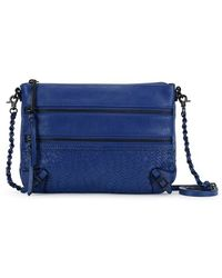 Elliott Lucca - 'messina' 3 Zip Crossbody Clutch - Lyst