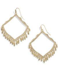 Kendra Scott - Lacy Drop Earrings - Lyst