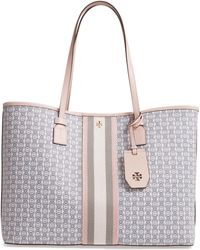 Tory Burch - Gemini Link Coated Canvas Tote - Lyst
