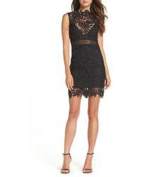 Bardot - Paris Lace Body-con Dress - Lyst