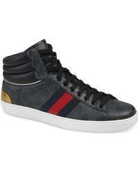 c17d473aa51 Lyst - Gucci  coda  High Top Sneaker in Black for Men