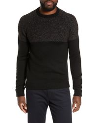 Ted Baker - Arks Slim Fit Textured Crew Sweater - Lyst