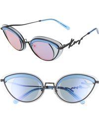 b16b2e85e0e2 Lyst - KENZO Women's Acetate Sunglasses in Brown