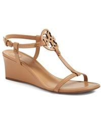 Tory Burch - Miller Wedge Sandal - Lyst