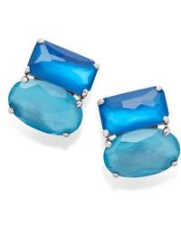 Ippolita - Wonderland Cluster Stud Earrings - Lyst
