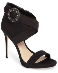 Imagine Vince Camuto - Vince Camuto Dashal Crystal Buckle Sandal - Lyst