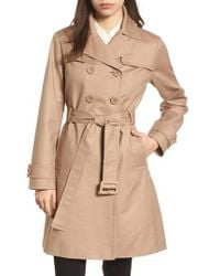 Kate Spade - Signature Back Bow Trench Coat - Lyst