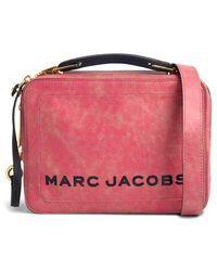 Marc Jacobs - The Box Leather Handbag - - Lyst