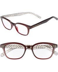 Kate Spade - Rebecca 47mm Reading Glasses - Opal Burgandy - Lyst