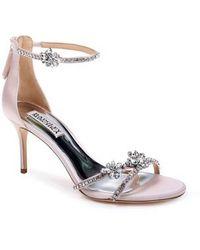 Badgley Mischka - Hobbs Ankle Strap Sandal - Lyst