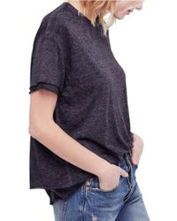 Free People - Cloud Nine Tee - Lyst