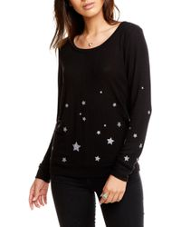 Chaser - Starry Night Pajama Top - Lyst