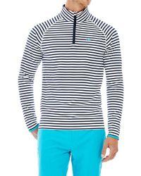 G/FORE - Quarter Zip Stripe Pullover - Lyst