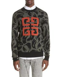 Givenchy - 4g Jacquard Wool Sweater - Lyst