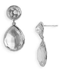Ippolita - 'rock Candy - Snowman' Drop Earrings - Lyst