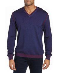 Bugatchi - Wool Blend Sweater - Lyst