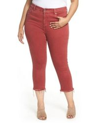 Lucky Brand | Emma Crop Jeans | Lyst