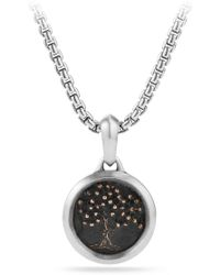 David Yurman - Tree Of Life Amulet - Lyst