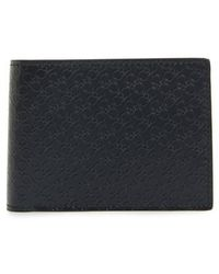 Ferragamo - Gancini Leather Card Case - Lyst