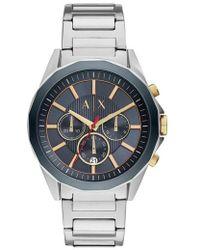 Armani Exchange - Chronograph Bracelet Watch - Lyst